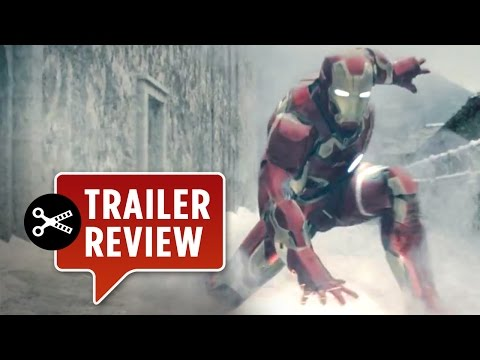 Instant Trailer Review: Avengers: Age of Ultron Official Trailer #3 (2015) - Marvel Movie HD
