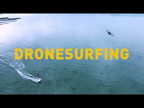 You Don't Need Waves When Surfing With A Drone