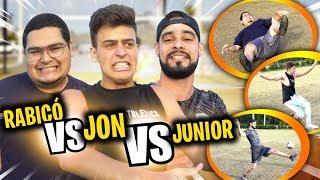 JON VLOGS MITOU! *na cagada! (RABICO vs JON vs JUNIOR)