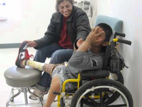 Angel Enriques Gets Legs!