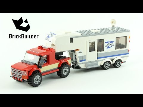 Lego City 60182 Pickup & Caravan - Lego Speed Build