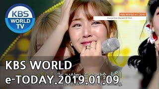 KBS WORLD e-TODAY [ENG/2019.01.09]
