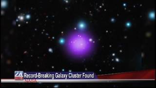 Record-Breaking Galaxy Cluster Found