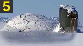 Video Top 5 Submarine Surfaces Through Ice MP3, 3GP, MP4, WEBM, AVI, FLV Desember 2018
