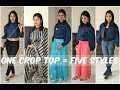 One Crop Top, Five Styles  5 Ways to Style a Crop Top