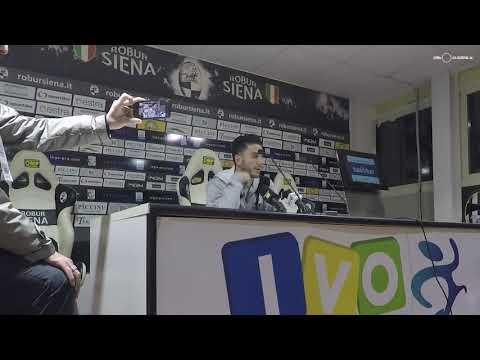 Robur Siena-Gavorrano 1-1: Mignani, Cristiani, Marotta