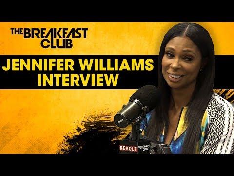 Jennifer Williams On Basketball Wives Reunion, Tami Roman, Shaunie O'Neal + More