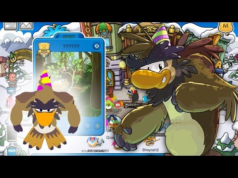 Encuentro con Personaje Misterioso (Sasquatch) en Club Penguin 2014