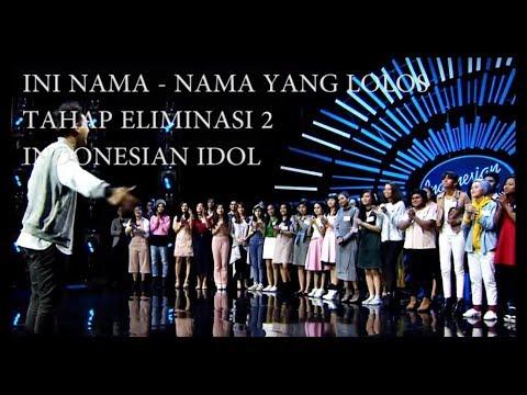 Download Lagu Ini Dia 26 Besar Indonesian Idol 2018 Yang Lolos Dari Eliminasi 2 Music Video