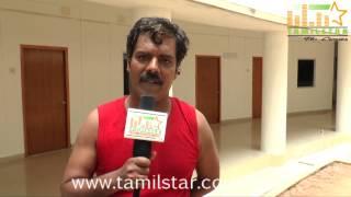 Actor Ramadoss at Aavikumar Movie Shooting Spot