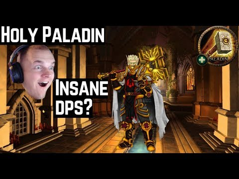 Holy Paladin Dps in M+ is insane? 8.0.1