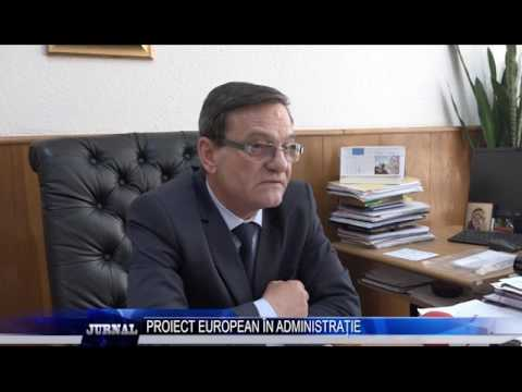 PROIECT EUROPEAN IN ADMINISTRATIE