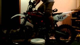 10. 2012 Husqvarna WR360 Project - First Start