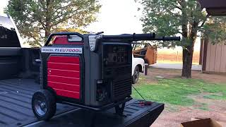 4. Honda EU 7000is Generator Unboxing