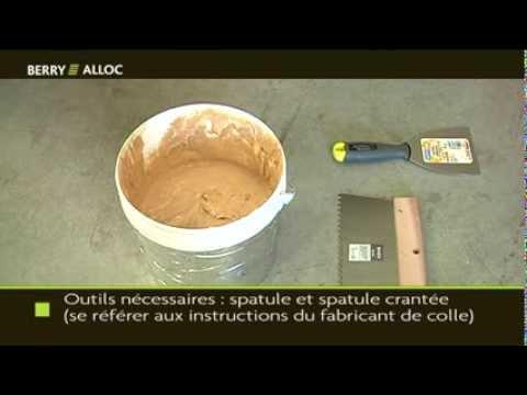 BerryAlloc Vidéo d'installation Parquet avec colle (Français)