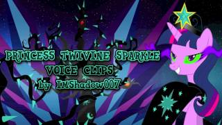 Princess Twivine Sparkle Voice Clips by IMShadow007