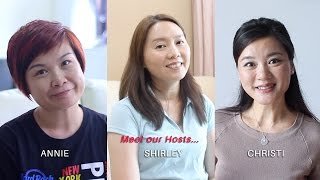 今天就加入我们当Dine Inn​家厨吧!Join us as a Dine Inn Host today!Meet our Hosts: Annie, Shirley and Christi 如果您热爱烹饪,马上就加入Dine Inn的家厨行列,并与他人分享您的拿手好菜吧!只需PM我们或浏览www.dineinn.com,马上注册为家厨。欲知更多详情,请拨打6796 9340 或电邮至hosts@dineinn.comIf you've got the passion for cooking, come join us as a Host and get to share your food with others! Simply drop us a PM or visit our website at www.dineinn.com to sign up as a Host now. Call us at 6796 9340 or email us at hosts@dineinn.com for further enquiries.Dine Inn is a one-stop community marketplace that connects the makers and lovers of food. Tuck into a heart-warming home-cooked meal and share your culinary experiences with new friends.Join the Dine Inn family today!