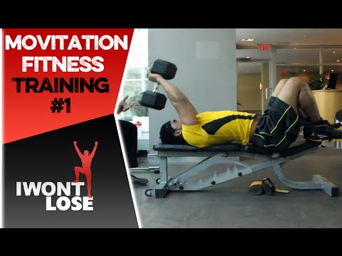 Motivation Fitness Training – @ADAMwontLOSE Part 1