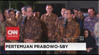 Video FULL: Konpers Pertemuan Prabowo-SBY MP3, 3GP, MP4, WEBM, AVI, FLV Juni 2019
