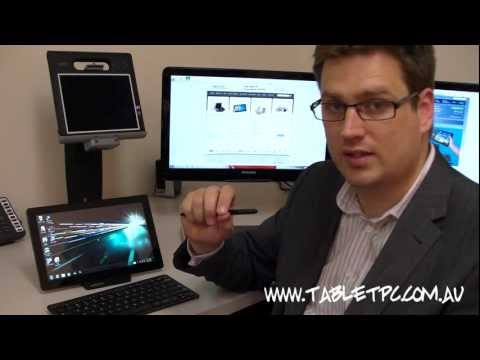 Samsung Series 7 Slate - Windows 7 Tablet PC Australian Review - Part 1 Overview