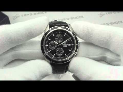 Casio Edifice EFR-526L-1A обзор наручных часов от Интернет-магазина TopGShop.ru (видео)