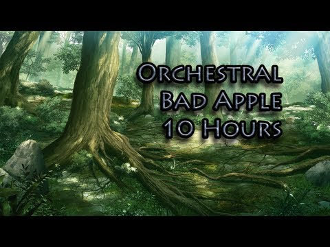 TehN1ppe - Orchestral version of Bad Apple. Original mp3 / midi made by tako8, you can find download here: http://www.tako8smidiroom.com/ Picture can be found here: htt...