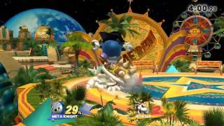 Dope Meta Knight Horizontal Ladder Combo