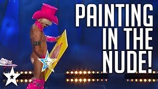 Video Painter's Got The FULL Package... | Sweden's Got Talent | Got Talent Global MP3, 3GP, MP4, WEBM, AVI, FLV Desember 2018