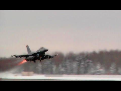 Kunsan Air base F-16 and ROKAF...