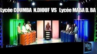 Génies en Herbe: Lycée Coumba Ndoffène Diouf de Fatick contre le lycée Maba Diakhou Ba de Nioro