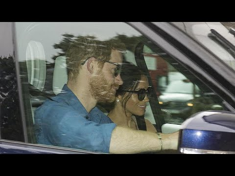 Prince Harry and Meghan Markle Spotted For First Time After Royal Wedding