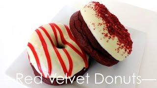 Red Velvet Doughnuts (Donuts)