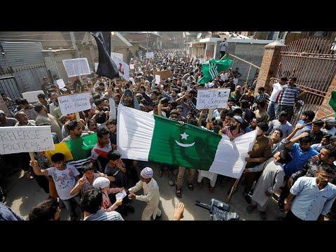 Indien: Ausgangssperre in Kaschmir nach erneuten Prot ...