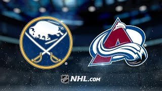 Smith, Landeskog propel Avalanche past Sabres, 5-3 by NHL
