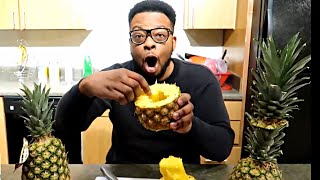 VIRAL PINEAPPLE VIDEO DEBUNKED!! You've Been Eating Pineapples All Wrong!!!