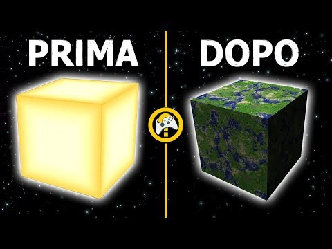 Teorie Minecraft LA TERRA PRIMA ERA IL SOLE ! #PIXELTHEORY