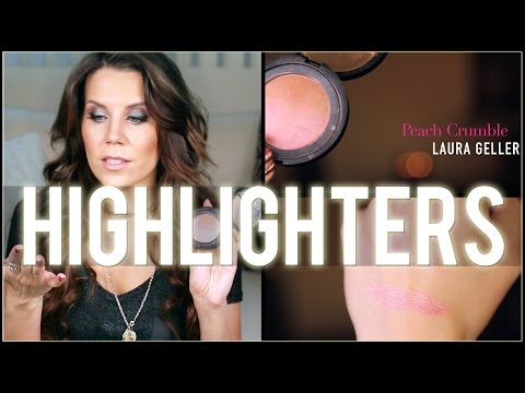collection - Today we dig through my FULL Highlighter Collection! Everything from cream to super shimmery ; ) I show you every single one I own... & share which ones I'm giving / throwing away. Thanks...