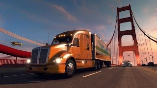 ATS Gameplay. Trip to Tonapah Highlights: Buying a Kenworth, another loan, retarder