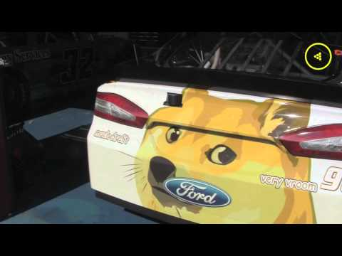 A Special Message from Dogecoin NASCAR Driver Josh Wise