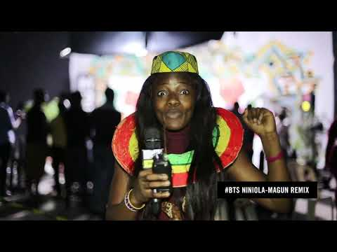 Niniola FT Busiswa [MAGUN REMIX Behind The Scenes]