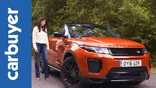 Range Rover Evoque Convertible review 2016 - Carbuyer by Carbuyer