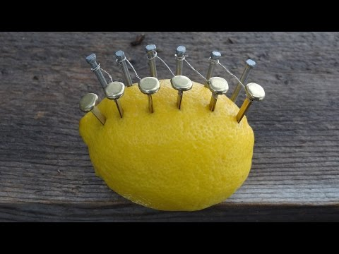 How To Make Fire With A LEMON.