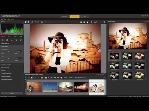 Corel PaintShop Pro X7 - Introducción