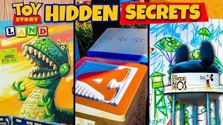 Video Top 10 Hidden Secrets of Toy Story Land - Pixar Easter Eggs MP3, 3GP, MP4, WEBM, AVI, FLV Juli 2018