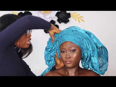 Detailed Tutorial On How To Tie Gele (step By Step)