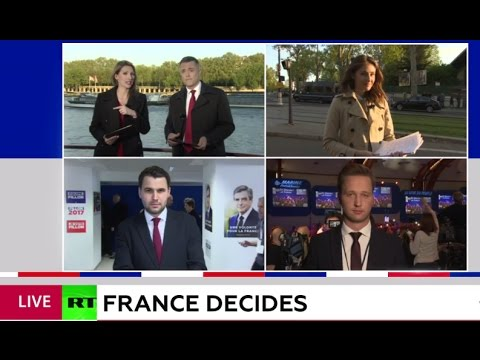 WATCH LIVE RT's special coverage: First round of French 2017 presidential elections