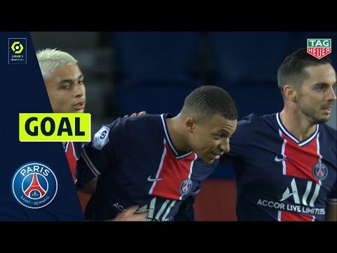 Goal Kylian MBAPPE (82' - PARIS SAINT-GERMAIN) PARIS SAINT-GERMAIN - DIJON FCO (4-0) 20/21