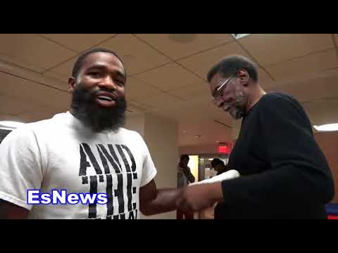 Adrien Broner What He Told 50 Cent Today EsNews Boxing