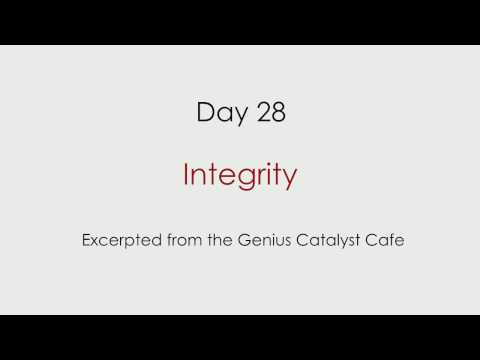 Day 28 – Integrity