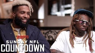 Video Odell Beckham Jr. and Lil Wayne open up on their careers, achievements and relationship | NFL MP3, 3GP, MP4, WEBM, AVI, FLV Oktober 2018